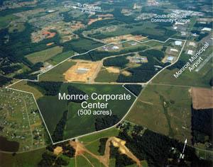 MonroeCorpParkAerial
